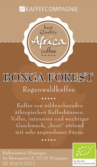 Äthiopien Bonga Forest BIO