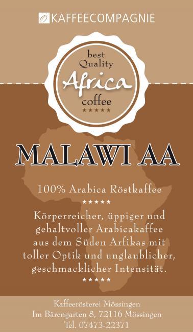 Malawi Pamwamba AA plus